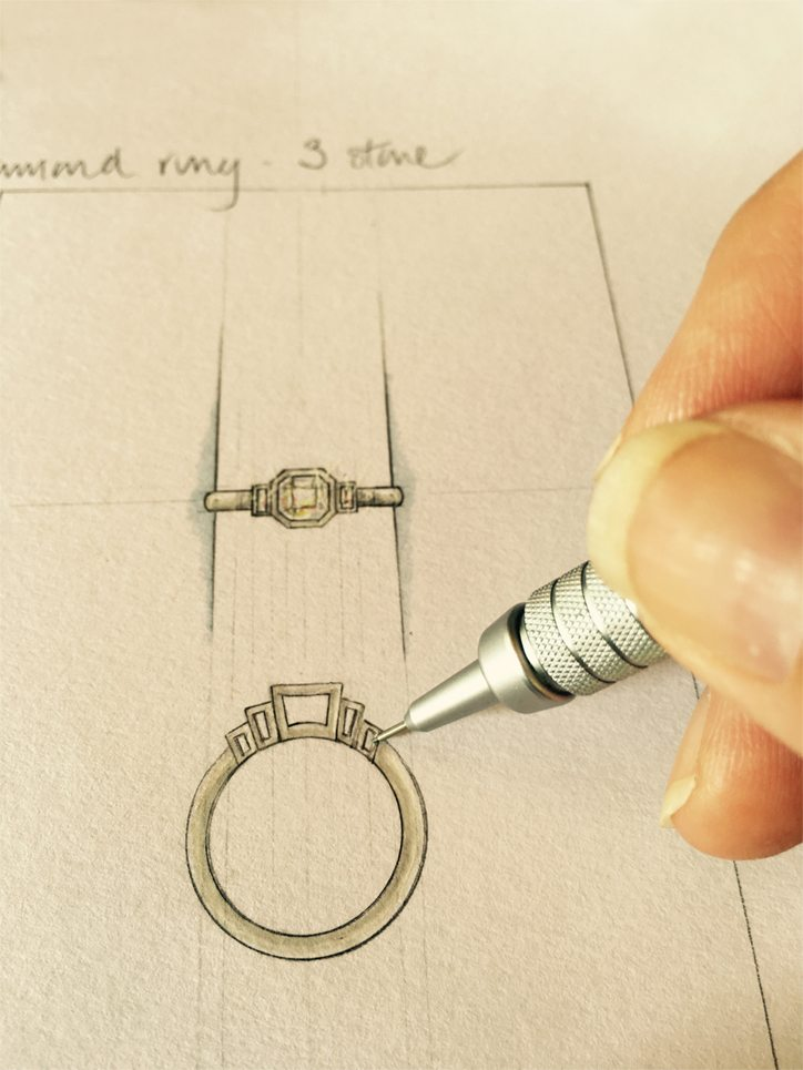 Engagement ring styles by Rubie Rae