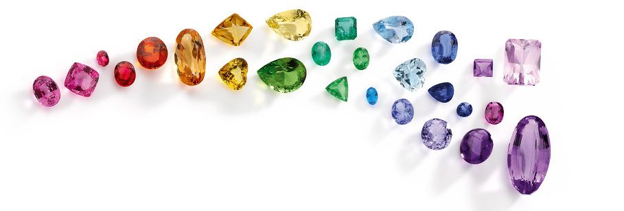 Rubie Rae Rainbow of coloured stones