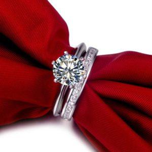 Rubie Rae engagement & wedding ring