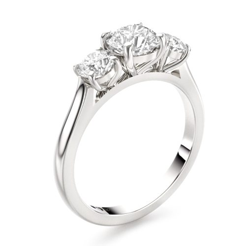 Harrogate Three Stone Engagement Ring