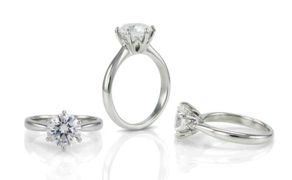 Harrogate jewellers Rubie Rae Bespoke engagement ring