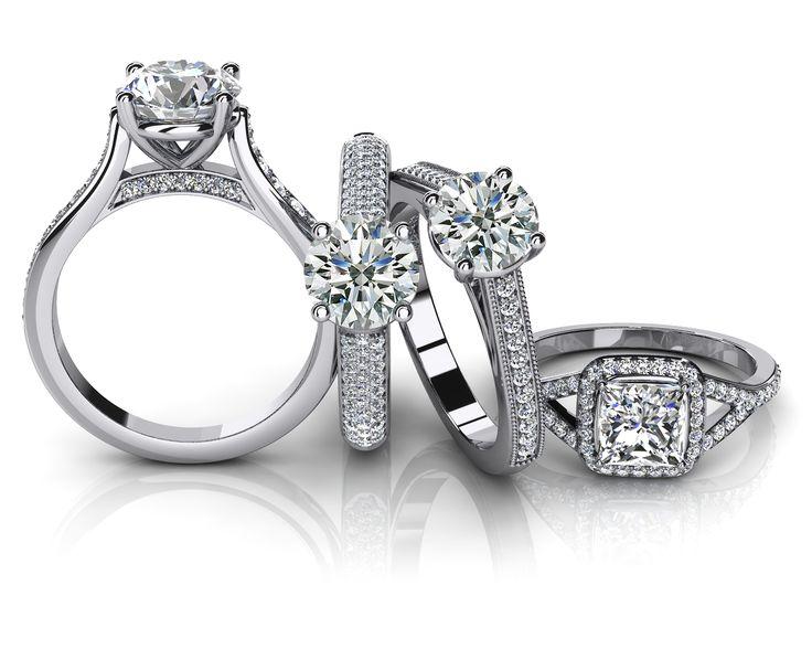 Custom Right Hand Ring Settings