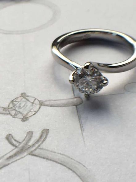 Tiffany Style Ring By Rubie Rae Harrogate Jewellers