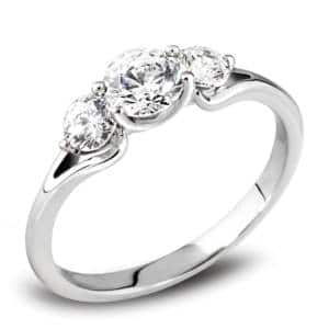 trilogy Engagement ring harrogate jewellers