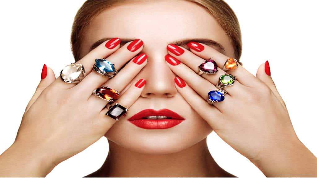 Rubie Rae diamond & coloured Rings