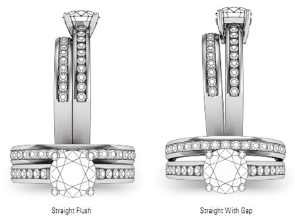 engagement and wedding ring_bridal